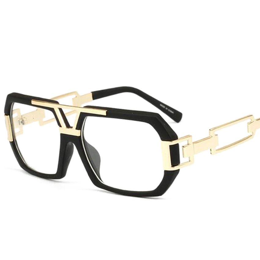 2018 NEW DQ01-DQ12 fashion glasses optical transparent plane frame glasses glasses men or glasses