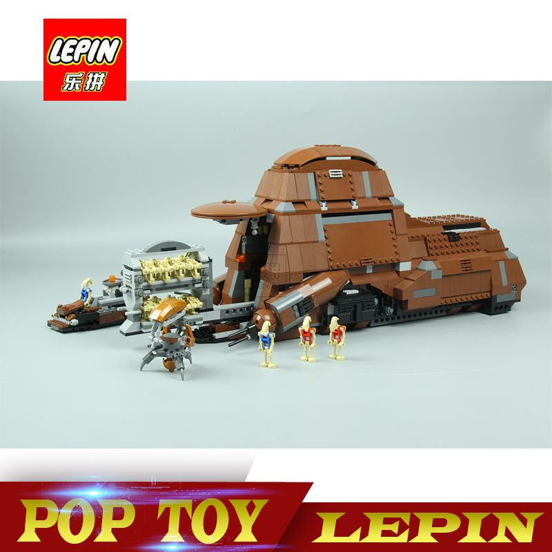 DHL Lepin 05069 Star Wars Series The Federation Transportation Tank Set MTT Children Building Blocks Bricks legoed toys 7662
