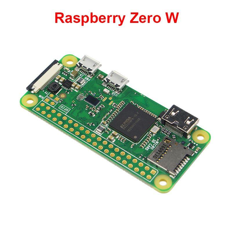 2017 Raspberry Pi zero W совета 1 ГГц Процессор 512 МБ Оперативная память со встроенным WI-FI и Bluetooth RPI 0 Вт