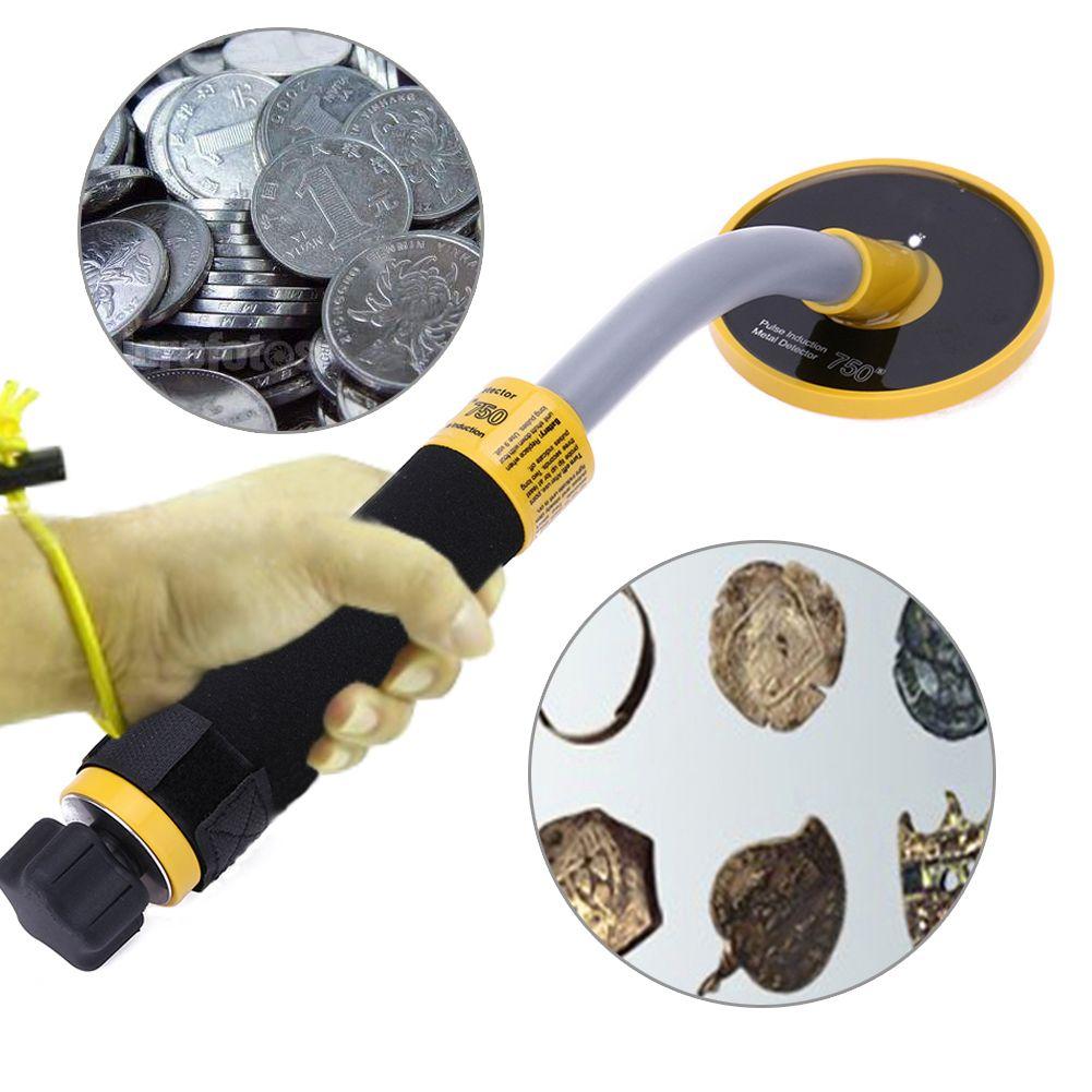 Underground Metal Detector 750 High Sensitivity Waterproof 30m Pulse Induction Metal Detector Stability Vibration Alarm Mode