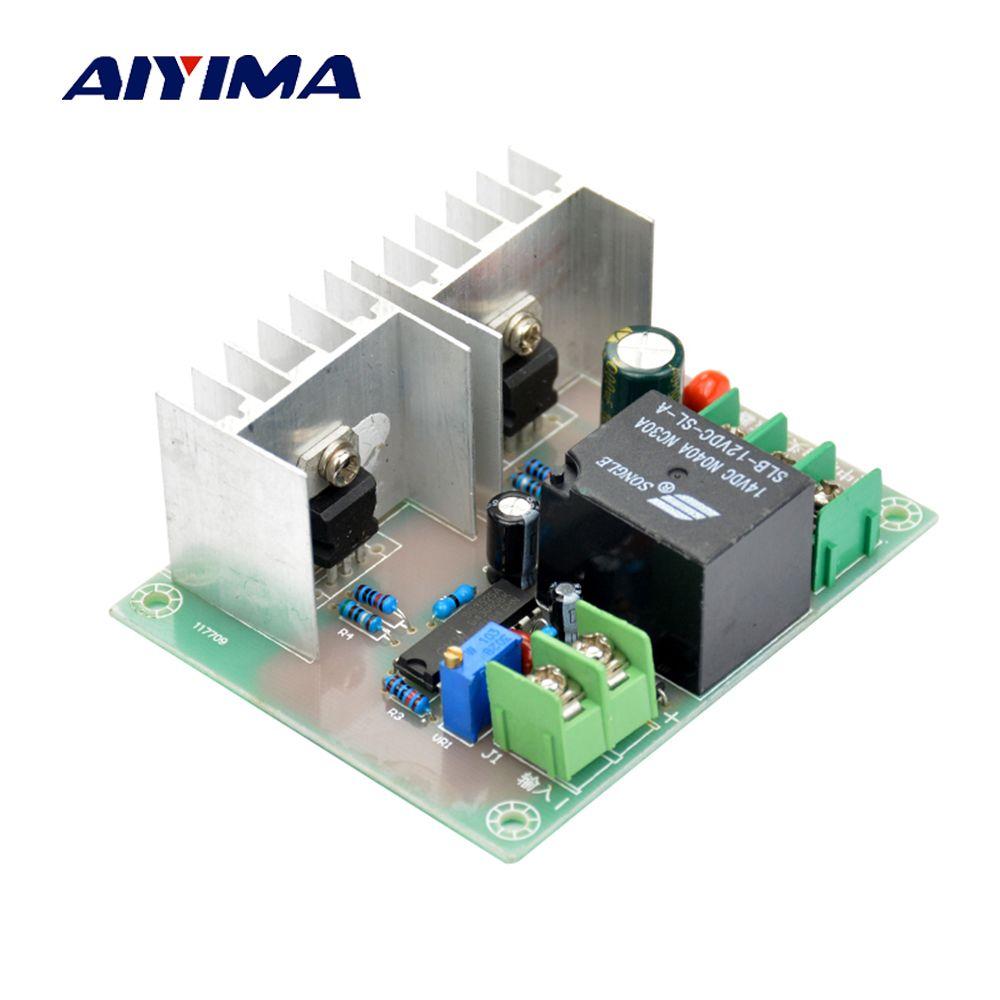 Aiyima 300 W Inverter Drive Conseil DC 12 V à AC 220 V Onduleur Lecteur Cordon Transformateur Basse Fréquence Onduleur