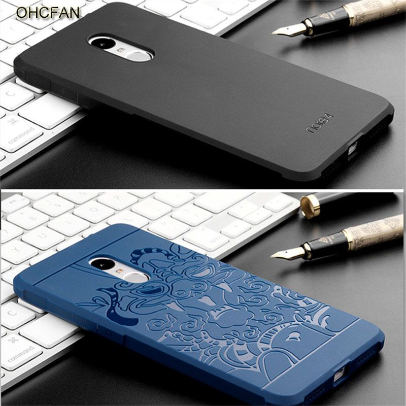Luxury Soft Silicon TPU Xiaomi Redmi Note 4 Pro Prime 3GB RAM 64GB Full Protective Shockproof Phone Case For Xiomi Redmi Note 4