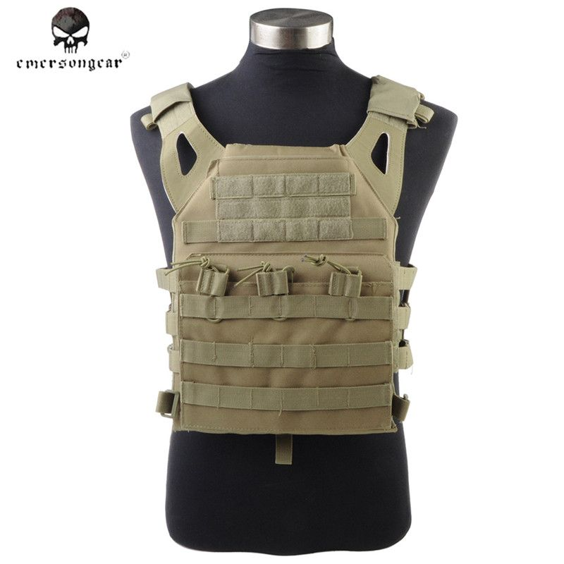 1000D Molle JPC Tactical Vest Simplified Version Military Army Chest Protective Plate Carrier Hunting Vest Airsoft Chest Rig