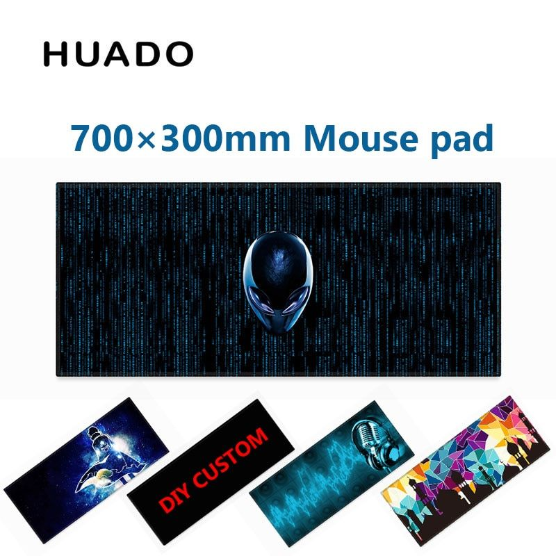 Tapis de souris de jeu en caoutchouc tapis de souris tapis de souris 700*300mm tapis de bureau pour world of tanks/cs go/dota 2/steelseries/lol