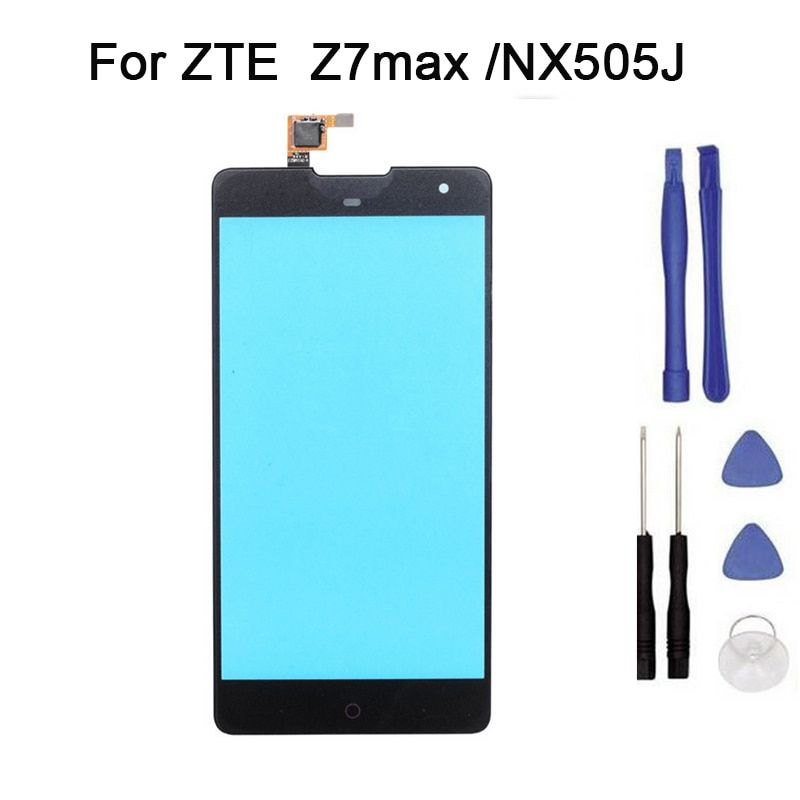 New Touch screen For ZTE nubia Z7 max NX505J  touch Screen Digitizer Front Glass Touch Panel Replacement + tool