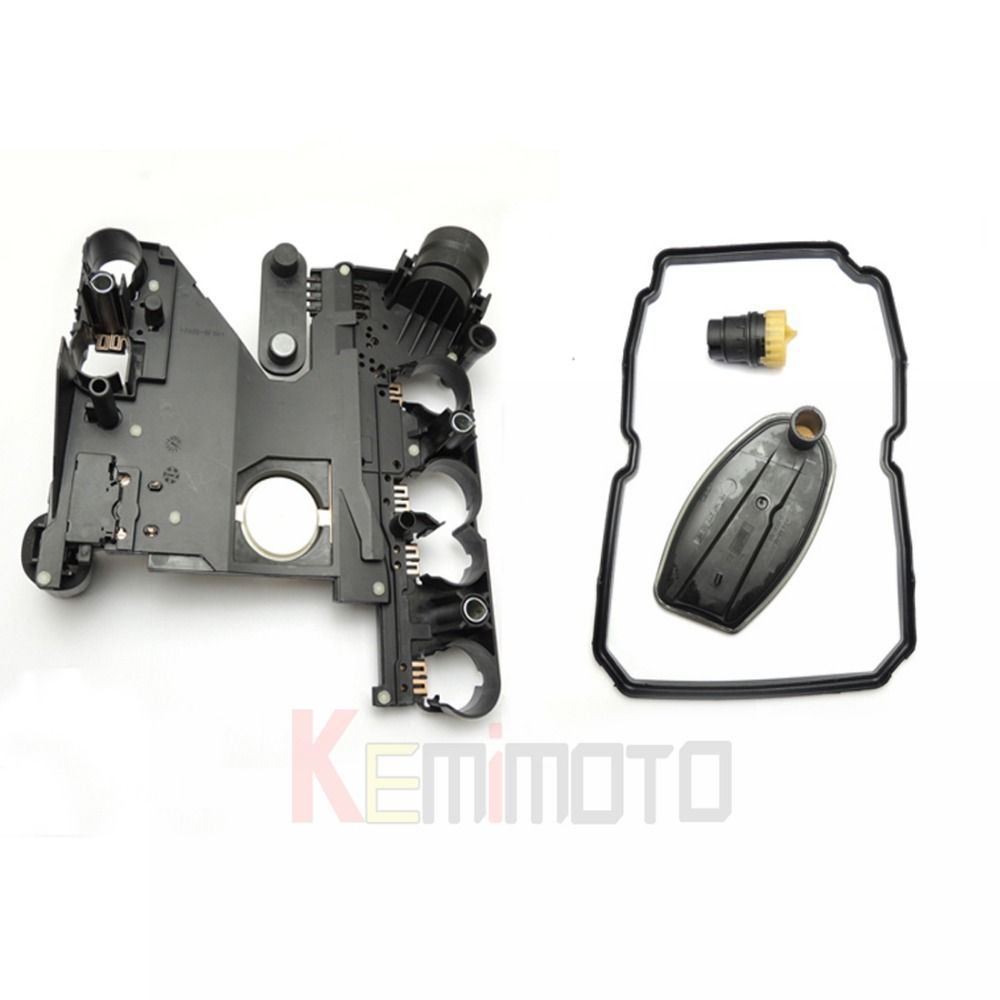 Transmission Conductor Plate+Connector+Filter+Gasket kit for Mercedes-Benz 722.6