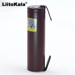2019 Liitokala для HG2 18650 3000 mAh Электронная сигарета перезаряжаемый аккумулятор Высокая-разряда, 30A высокий ток + DIY nicke