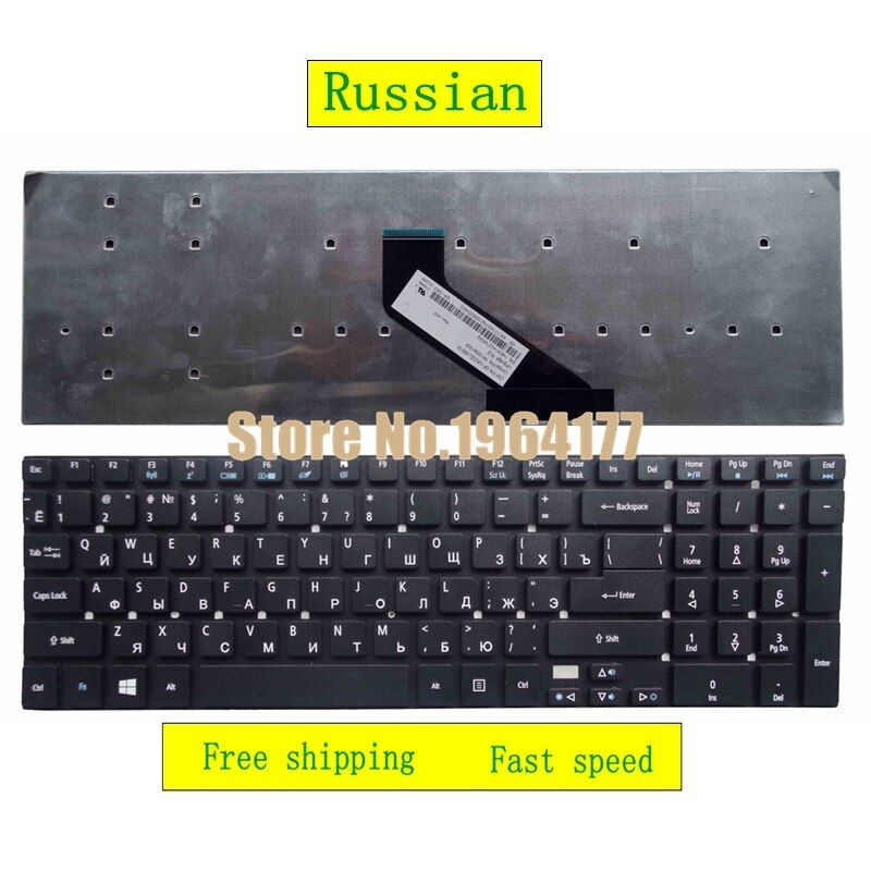 Russian For ACER For Aspire V3 V3-571 V3-571g V3-572 V3-572G V3-551 V3-771G 5755 5755g V5WE2 CM-5 RU replacement Laptop keyboard
