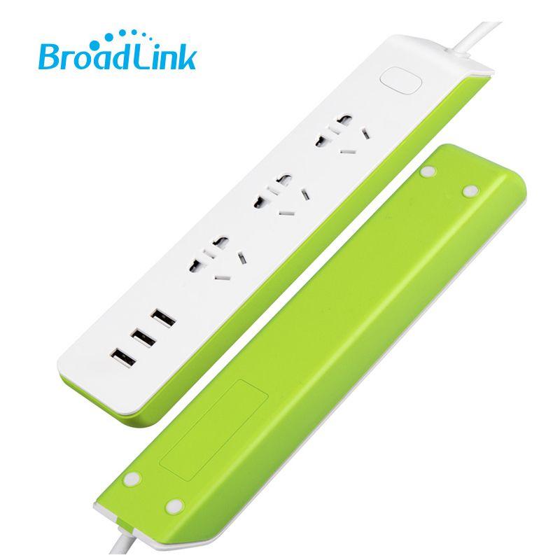 Sans fil Bande À Puce Prise Plug 2.1A USB Rapide Chargeur 4g Wifi Prise De Courant pour Xiaomi Android Apple Smartphone Broadlink MP2