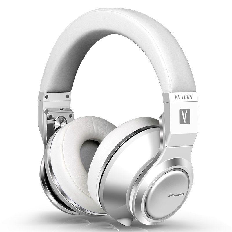 Bluedio V (Victory) High-End bluetooth kopfhörer/wireless headset PPS12 treiber mit Mikrofon drahtlose kopfhörer (weiß)