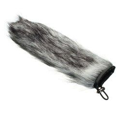 New Furry Outdoor Microphone Windscreen Artificial Soft Fur Muff Windshield For Professional Mic Microphone 12cm 15cm 22cm