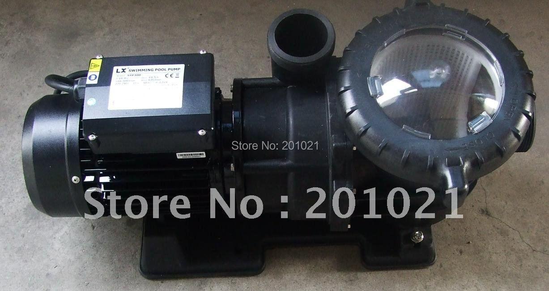 China Swimming pool pump LX 3HP 2200W H 18-8m Hmax 19.5m Q 66-600L/min Qmax 635L/min for bath,pool,circulation filter system