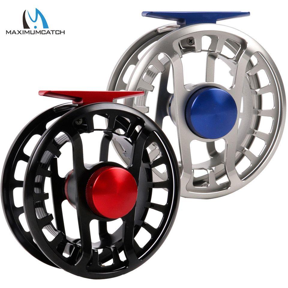 Maximumcatch MKS 5-13wt Fly Reel 100% Völlig Wasserdicht Super Licht Fly Fishing Reel Salzwasser und Süßwasser Angeln Reel