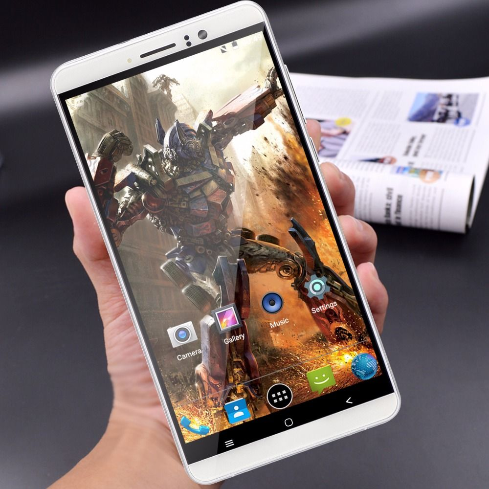 <font><b>Xgody</b></font> Smartphone 6.0 Inch Quad Core 1GB RAM 8GB ROM Android 5.1 Dual SIM Cards Telefone Celular 3G Unlocked Cell Phones