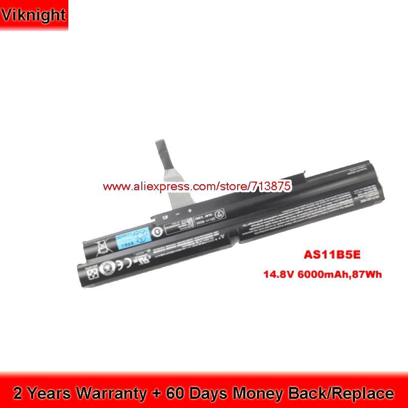 Original AS11B5E Batterie Für Acer Aspire Ethos 5951 5951G 8951G-2638G1TBnkk 8951G-9480 6000 mAh 87Wh