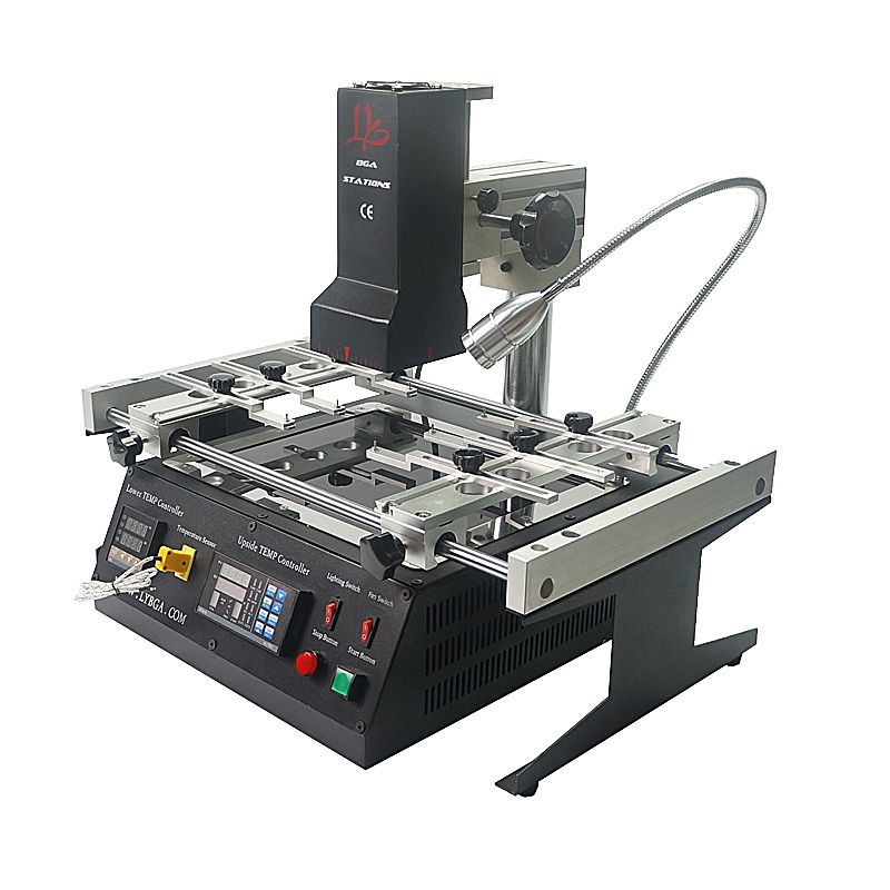 Infrared BGA Soldering Station Reballing Kits Preheat Area 240*200mm 6 pcs Jig LY IR6500 V.2 for Motherboard Chips Rework Repair