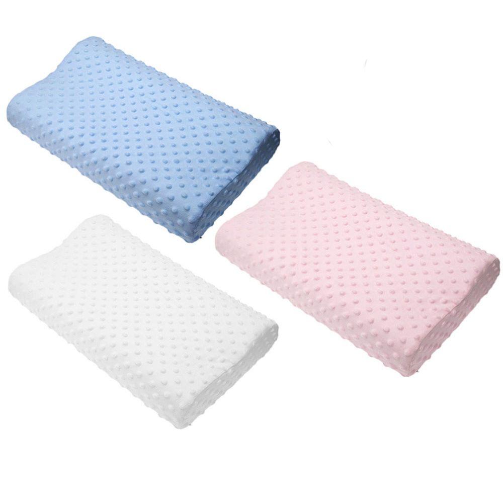 Oreiller en mousse à mémoire chaude 3 couleurs oreiller orthopédique Latex oreiller Cervical fibre rebond lent oreiller doux masseur soins de santé cervicaux