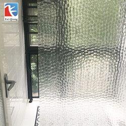 Feiqiong Marque PEVA Salle De Bains Rideaux De Douche 3D Imperméable Rideau de Bain Solide Motif 180*180 CM Haute Qualité