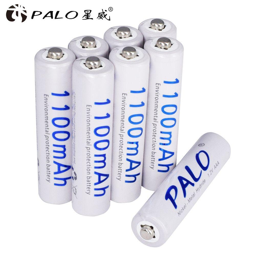 8 pièces 1100mAh 1.2v AAA batterie rechargeable pour jouet lumineux à LED batterie de placement pour caméra MP3 mp4 microphone