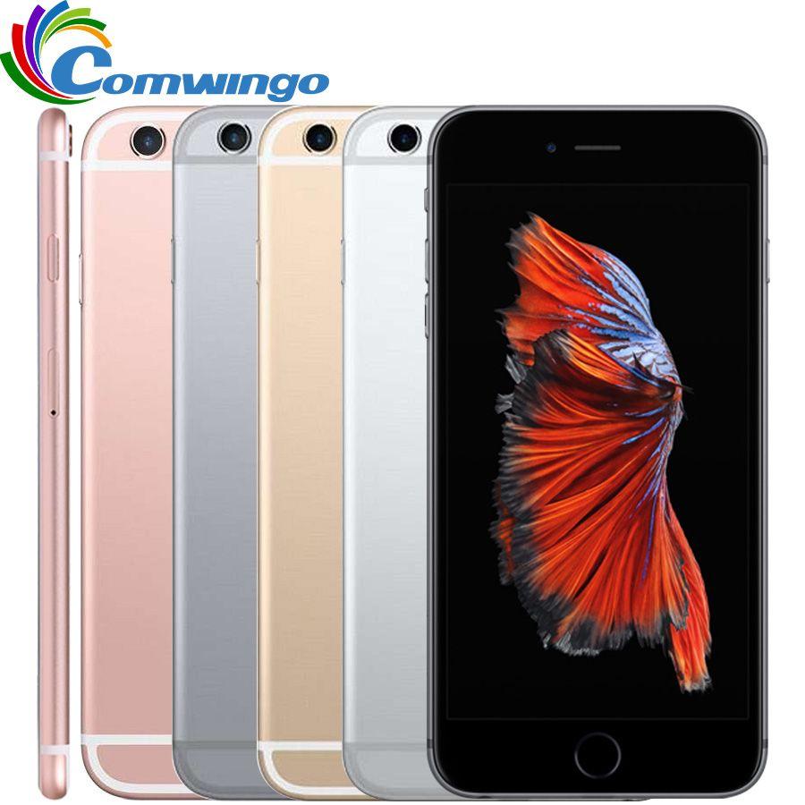 Entsperrt Original Apple iphone 6 s 2 gb RAM 16/64/128 gb ROM IOS Dual Core 4,7 ''12.0MP Kamera A9 4g LTE handy iphone 6 s