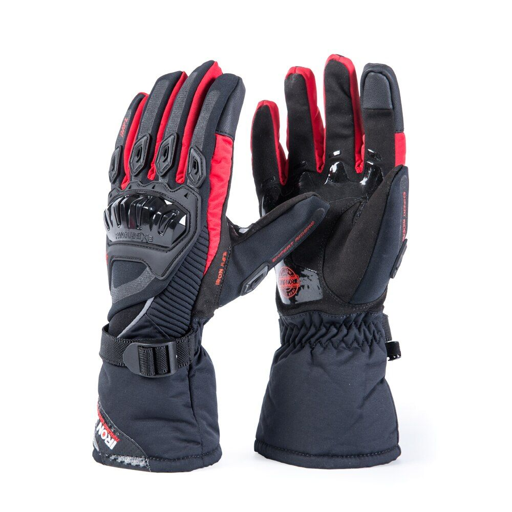 IRON JIA'S Motorcycle Gloves Touch Screen Winter Warm Waterproof Protective Gloves Guantes Moto Luvas Alpine Motocross Stars
