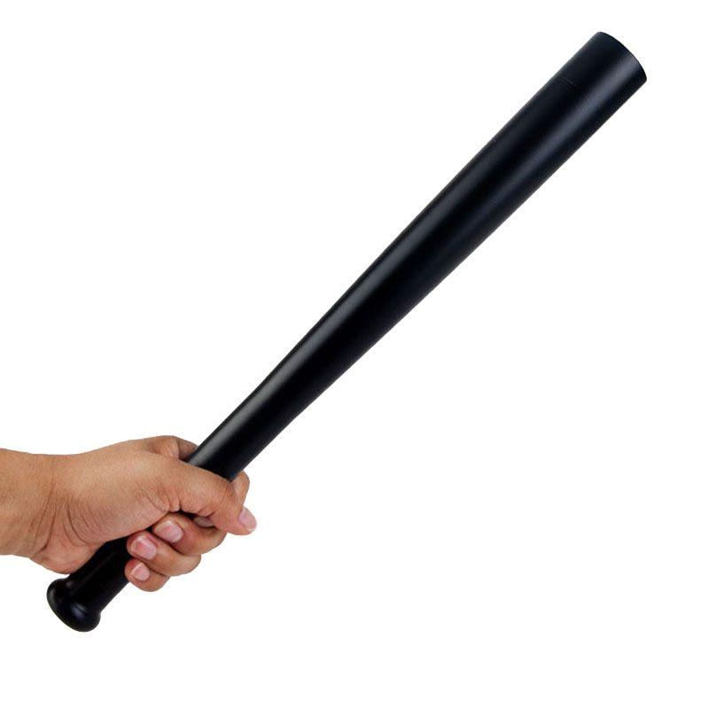 Outdoors <font><b>Emergency</b></font> LED Long Flashlight Rechargeable Self Defense Glare Flashlight Extended Baseball Bat Anti Riot Equipment