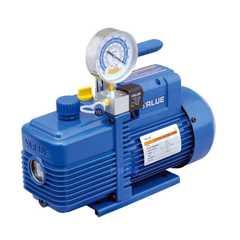 370 Watt 2L zweistufige neue kältemittel vakuumpumpe V-i240SV klimaanlage pumpe pumpen filter für R410A, R407C, R134a, R12, R22