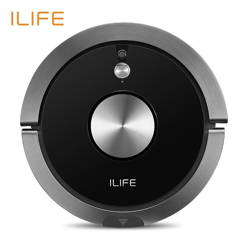 ILIFE A9s Robot aspirateur aspirateur et nettoyage humide Smart APP télécommande caméra Navigation nettoyage prévu grande poubelle