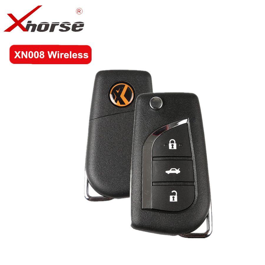 XHORSE Drahtlose Universal Remote Key 3 Tasten Für Toyota XN008 Remote key Mit NXP Chip Für VVDI SCHLÜSSEL WERKZEUG und VVDI2 5 teile/los