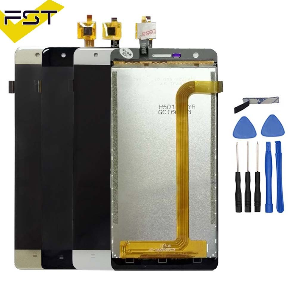 Pour Oukitel K4000 Lite LCD Display + Assemblée D'écran Tactile 100% Testé LCD Digitizer Verre Remplacement Pour Oukitel K4000 Lite