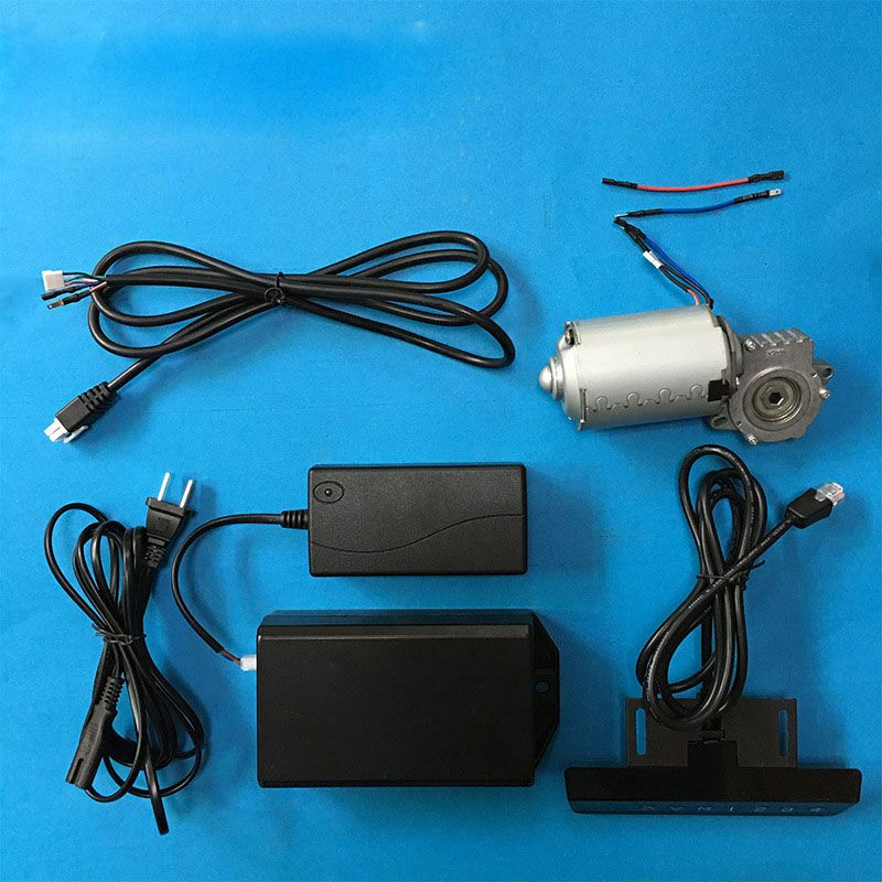 137F Motor 24V 52W 6N.m 75rpm Brushed DC Deceleration Gear Linear Actuator Motor and Controller sets For Lifting table