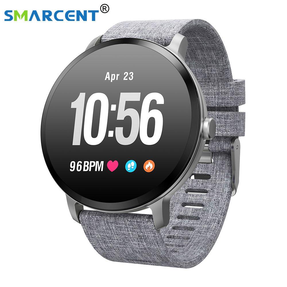 V11 Smart band watch IP67 waterproof Tempered glass Activity Fitness tracker Heart rate monitor BRIM Men women smartwatch
