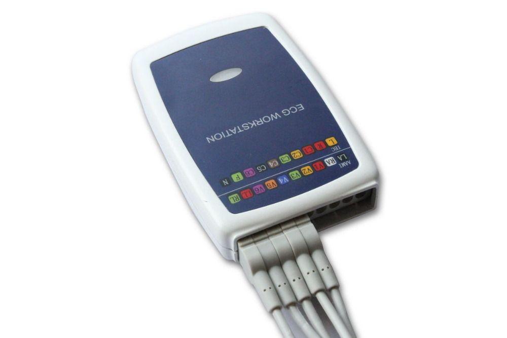 Contec Hersteller verschiffen Contec8000G Multi-funktion PC EKG/EKG Workstation System 12 Blei Ruhen