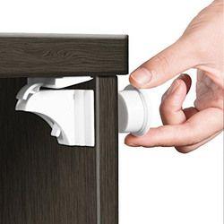Magnética cerraduras de seguridad del bebé cerradura de la puerta los niños de la protección cajón seguridad del bebé armario infantil bebé cosas