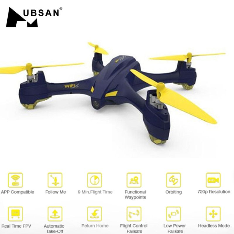 Hubsan H507A X4 Star Pro Wifi FPV With 720P HD Camera GPS Altitude Mode RC Quadcopterr RTF Mode Switch / APP Control Models