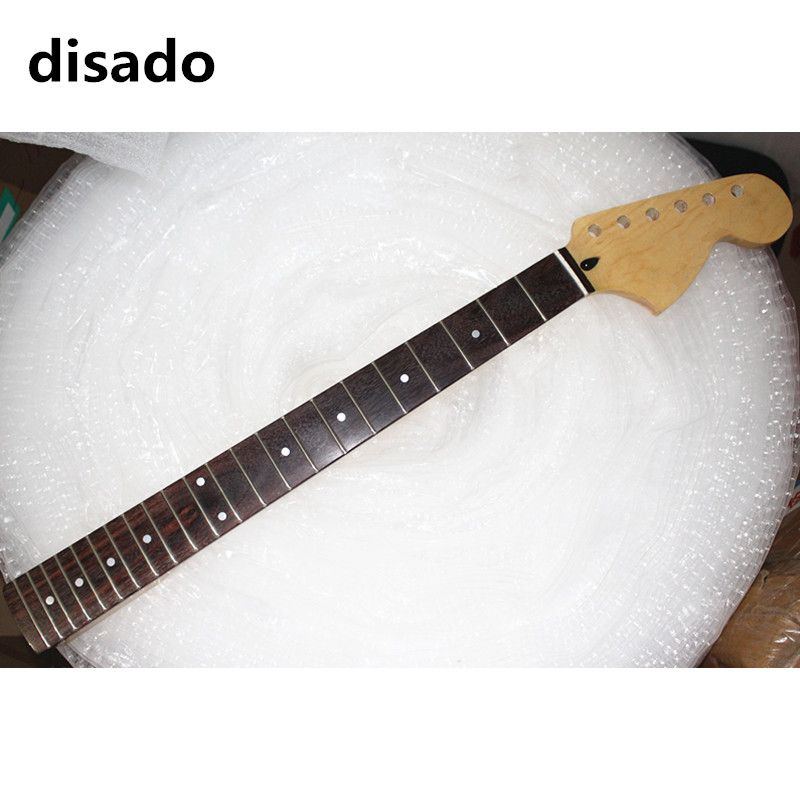 disado 21 22 Frets big headstock maple Electric Guitar Neck rosewood fretboard glossy paint guitar accessories can be customized