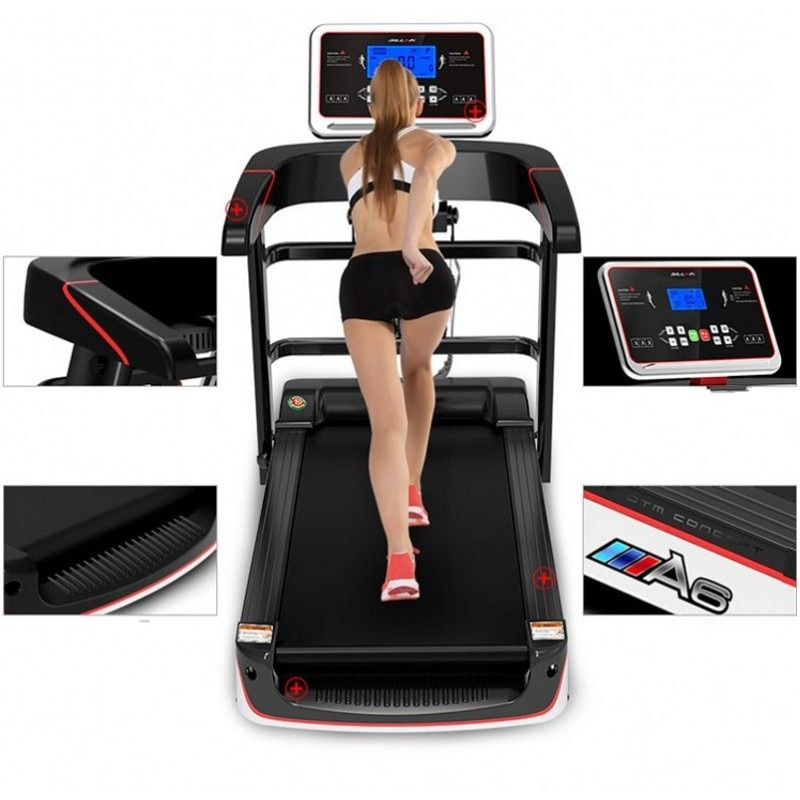 HD Farbe Bildschirm Elektrische Laufband WIFI Multifunktionale Übung Ausrüstung Laufen Training Indoor Sport für Haus Laufbänder