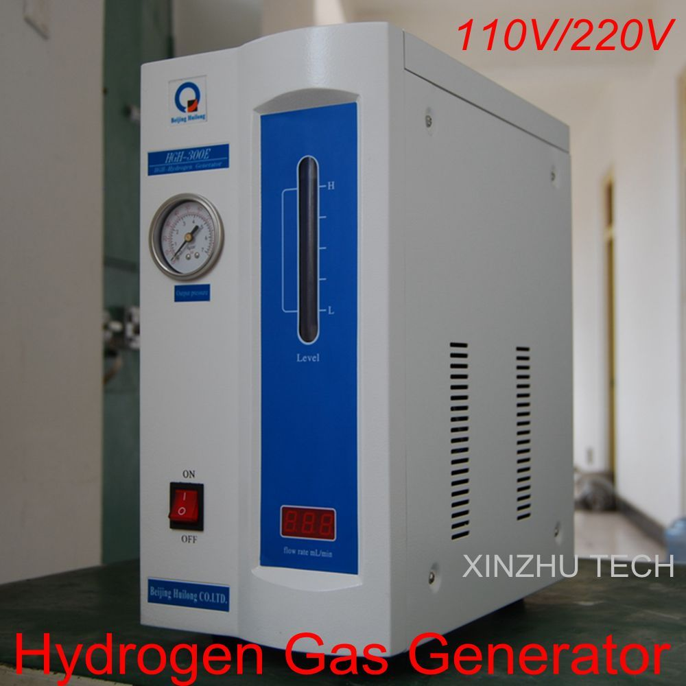 HGH-300E 500E High Purity Hydrogen Gas Generator H2: 0-300ml, 0-500ml For Gas Chromatograph 110V/220V