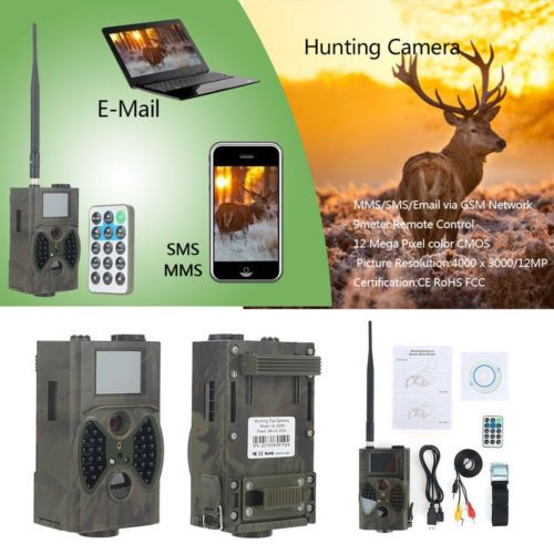 Wild Photo Traps Camera Suntek HC300M 12MP Infrared Night Vision 940nm Hunting Camera Outdoor GPRS Camera trail Camera mms