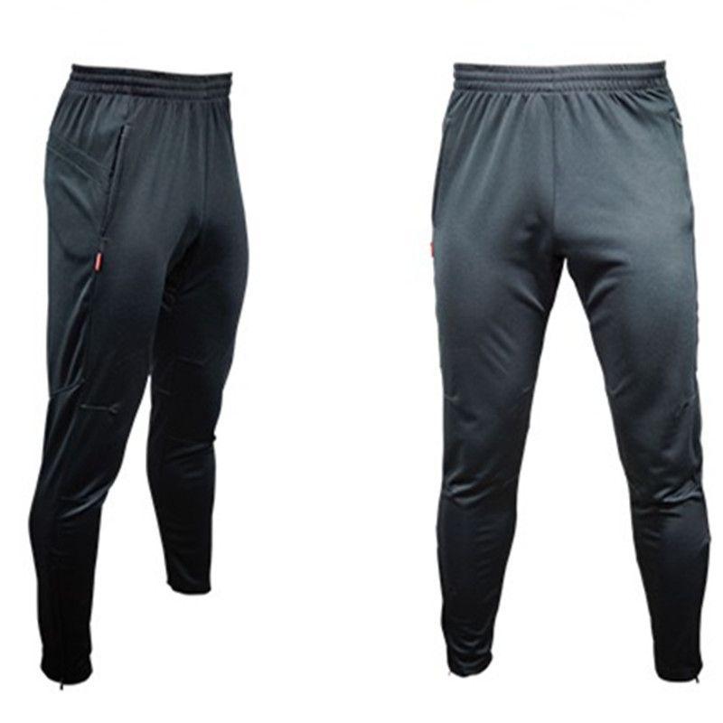 Fußball Trainingshose Männer Joggers Dünne Dünne Jogging Laufhose Hosen Trainingsanzüge Böden survêtement fußball 2017