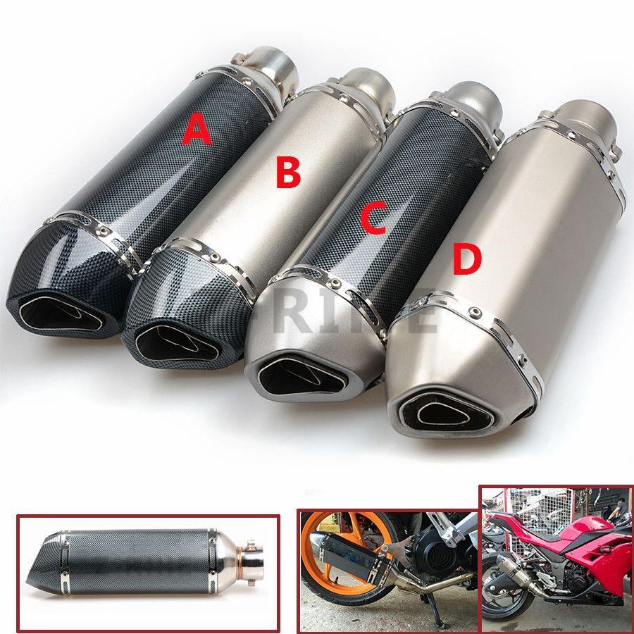 for Motorcycle z800 Yoshimura Muffler Exhaust Pipe R1 R3 R6 FZ1 FZ6 TMAX CBR CB400 Z750 Z800 GSXR ER6N ER10N RACING z900
