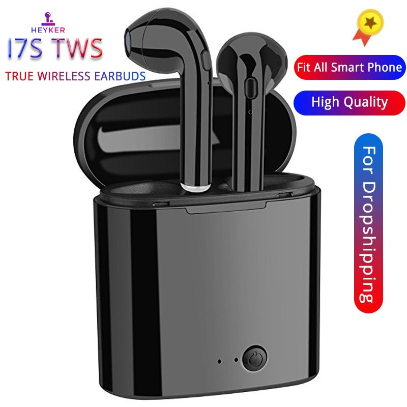 i7s TWS Mini Bluetooth Wireless Earphones Earbuds With Charging Box Sports Headsets Android Audifonos For All Smart Mobile Phone