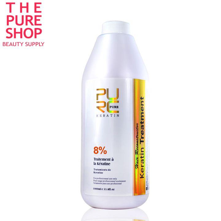 Cheveux brésiliens kératine traitement 8% défriser les cheveux au chocolat 1000 ml pour les cheveux masque et soins des cheveux kératine traitement