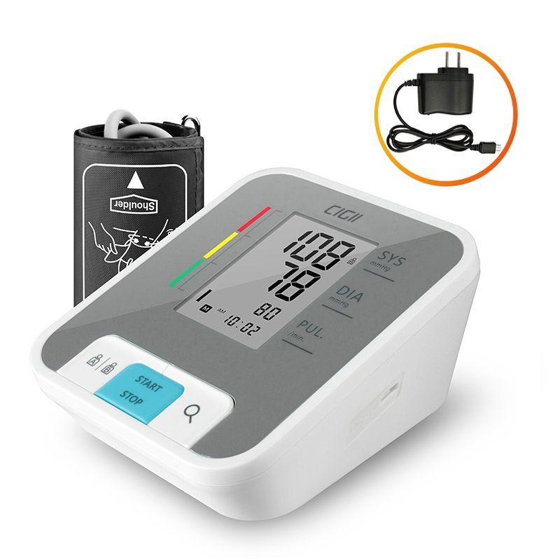 Cigii Home health care Pulse measurement tool Portable LCD digital Upper Arm Blood Pressure Monitor 1 Pcs
