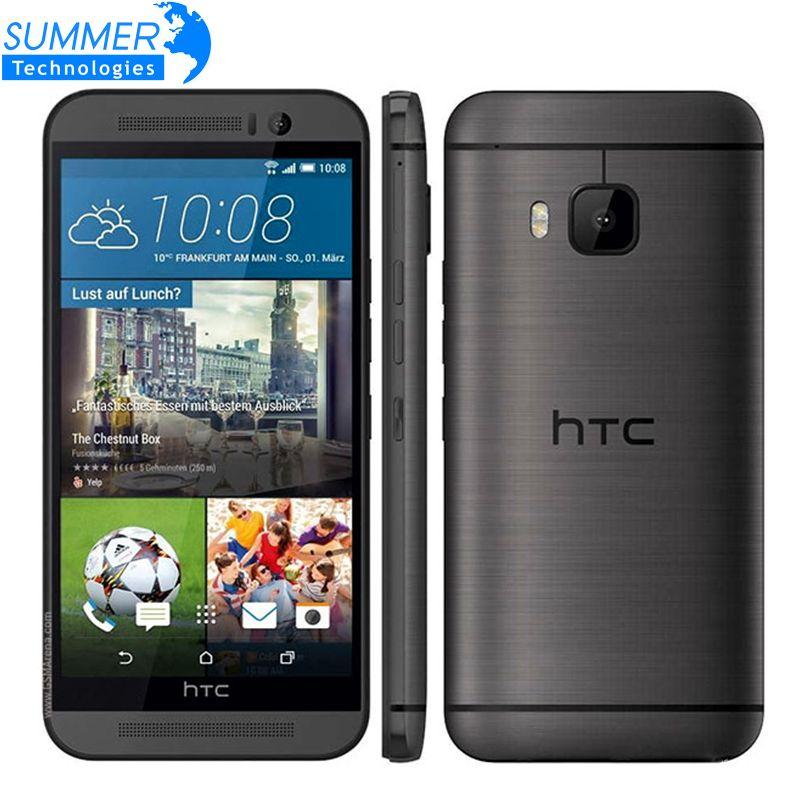Original Unlocked HTC One M9 Mobile Phone Marshmallow Snapdragon 810 Octa Core 3G RAM 32GB ROM 4G LTE 5.0' Inch 20MP Smartphone