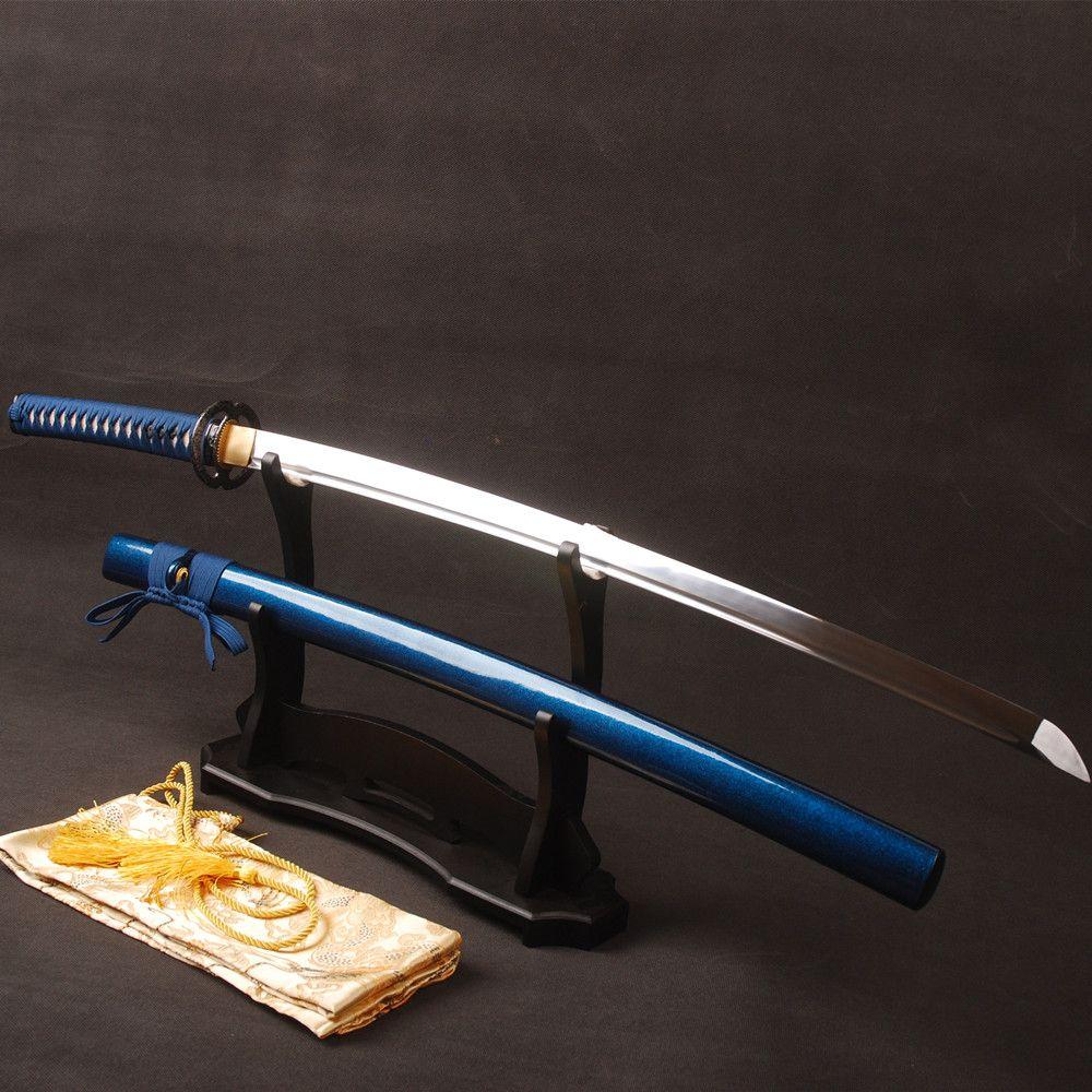 Brandon Schwerter Full Tang Espada Sharp Samurai Schwert 1060 Carbon Stahl Klinge Ausbildung Japanischen Katana Lange Messer Metall Dekoration