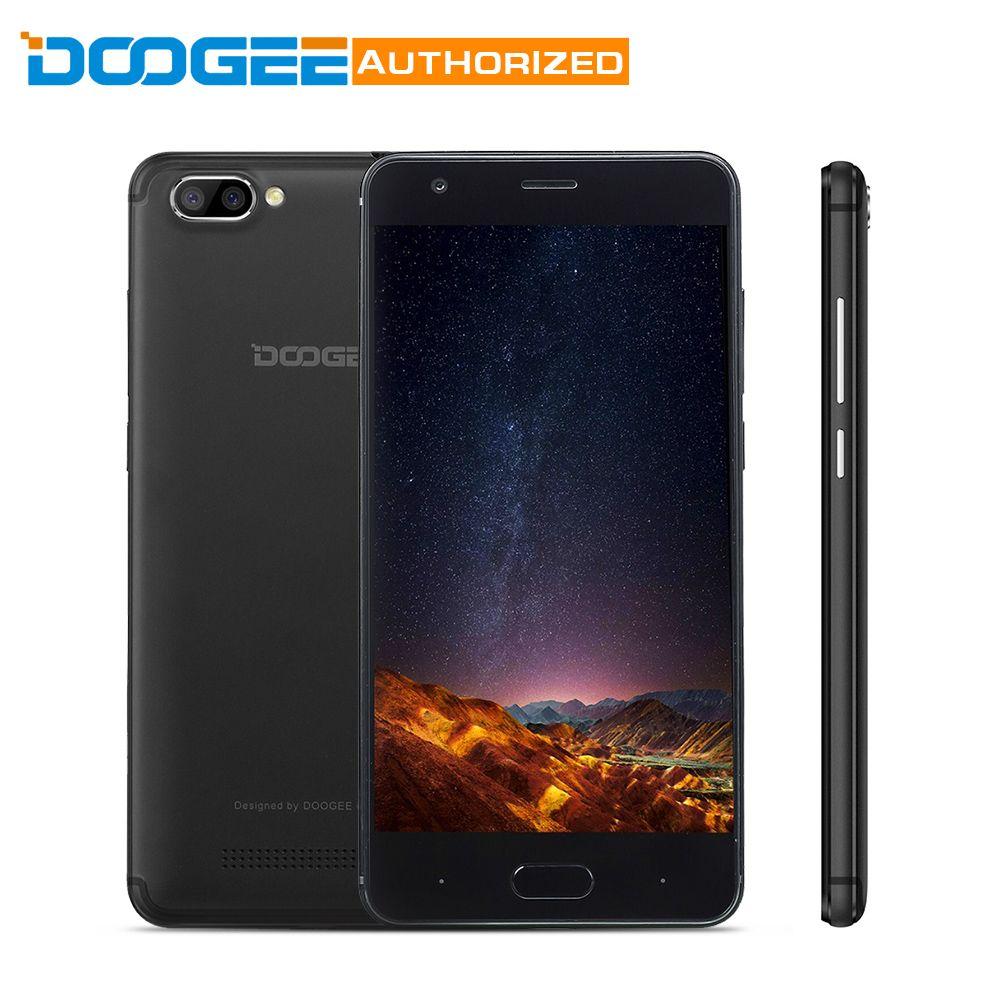 Последним Doogee X20 Android 7.0 смартфон 5.0 ''HD mtk6580a 4 ядра 2 ГБ Оперативная память 16 ГБ Встроенная память 5.0mp + 5.0mp двойной камеры мобильного телефона