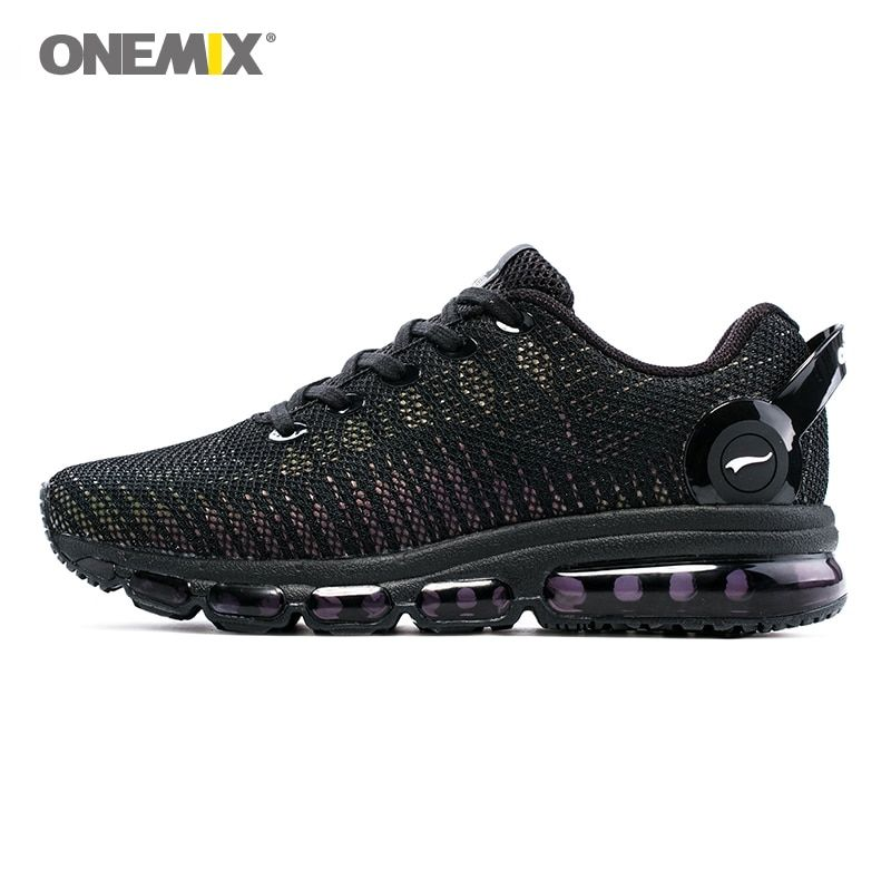 Onemix running shoes for men sports sneakers for women reflective mesh vamp sneakers for outdoor sports jogging walking shoes