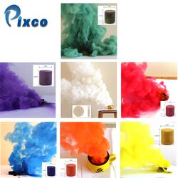 6Pcs colorful smoke cakes+1 white Smoke Effect for Parties, Smoke fog background horror Studio Photography Props DIY Smoke Cake