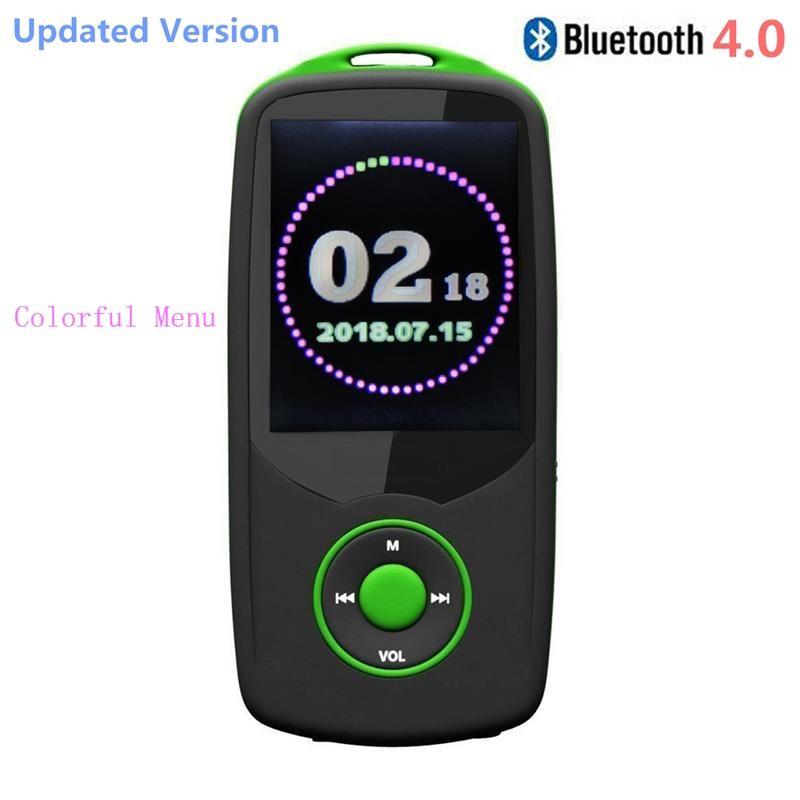 Neueste Version von RUIZU-X06 16 GB Bluetooth4.0 MP4 Musik-player 1,8-zoll Farbe Bildschirmmenü mit FM, unterstützt 64 GB Micro SD Karte